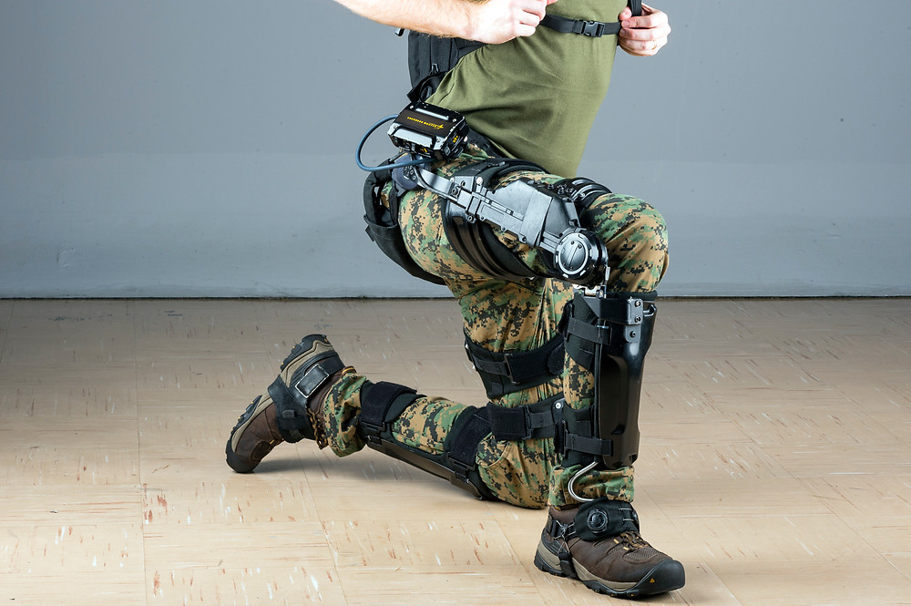 University of Michigan study suggests soldiers could cover inclined terrain More easily using Lockheed Martin's FORTIS K-SRD Exoskeleton