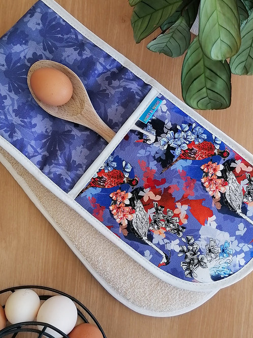 BIRDS OF PARADISE  OVEN GLOVES