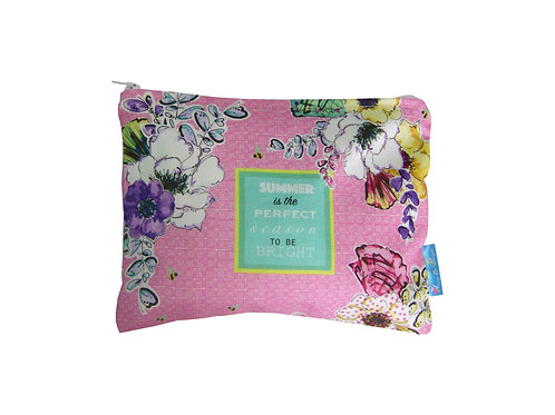 FLORAL BLOSSOM MAKE UP BAG