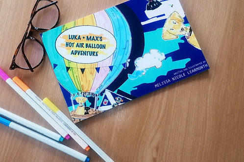 LUKA AND MAX'S HOT AIR BALLOON ADVENTURE BOOK