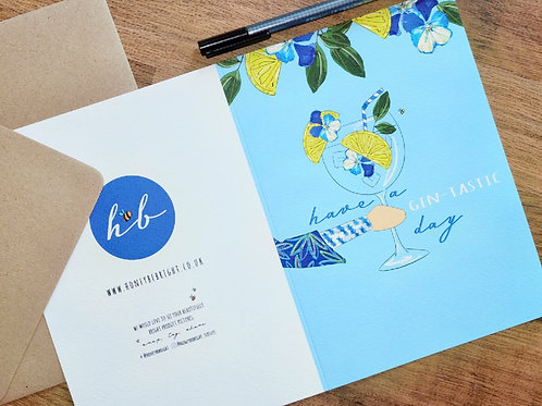HAVE A GIN-TASTIC DAY CARD