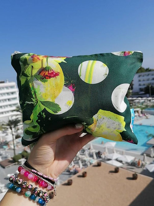LOVELY LEMON MAKE UP BAG