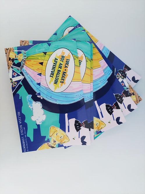LUKA AND MAX'S HOT AIR BALLOON ADVENTURE BOOK
