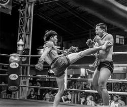KICKBOXERS, CHAING RAE, THAILAND