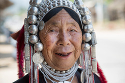 HILL TRIBE WOMAN, NORTHERN THAILAND