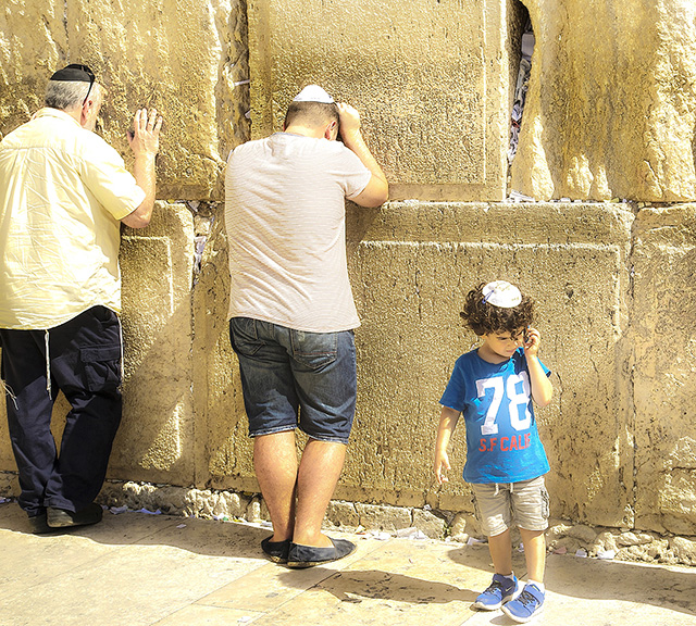 THE HOLY WALL, JERUSALEM