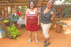 LADIES AT THE MARKET, HAVANA