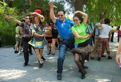 DANCE TEACHER, BEHAI PARK, BEIJING