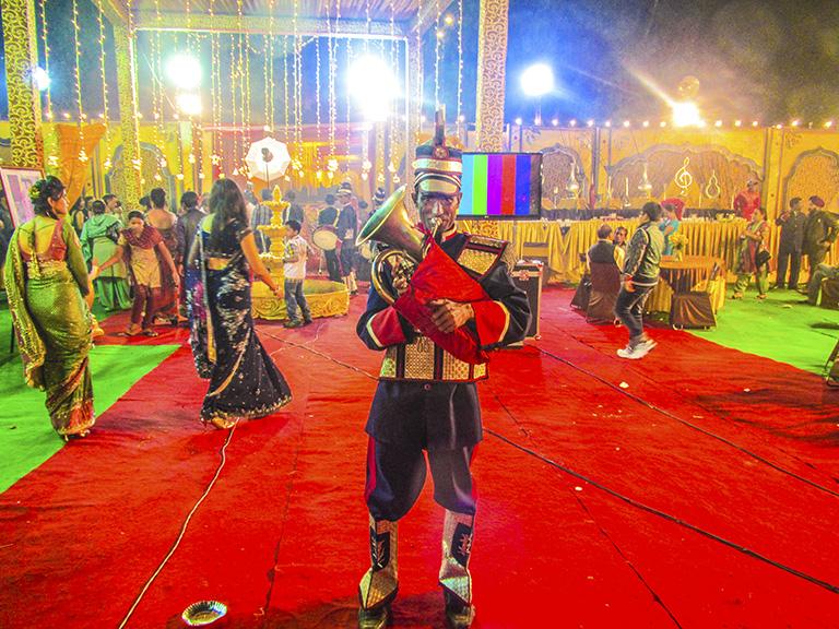 TUBA PLAYER, THE BIG WEDDING, DELHI