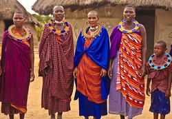 MASSAI TRIBAL WOMEN, AFRICA