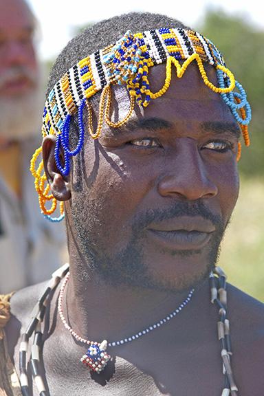 HADZABE TRIBAL CHIEF, AFRICA