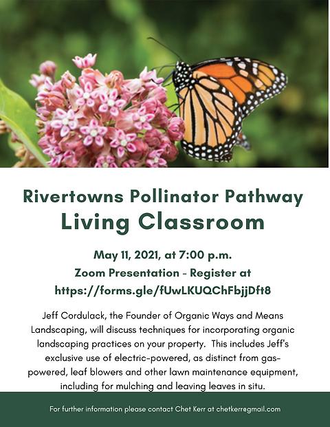 Flyer for Living Classroom Presentation
