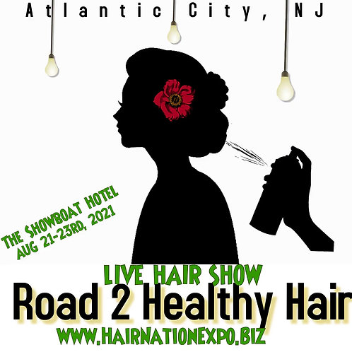 Day 1 Event Ticket to Road 2 Healthy Hair