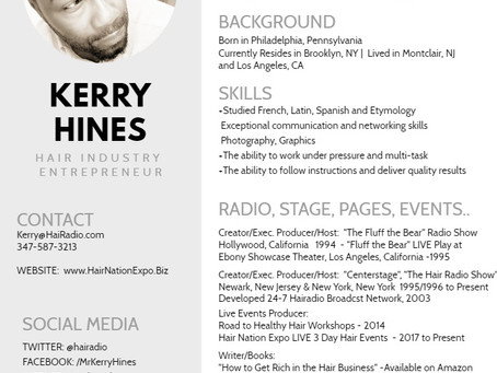 Kerry Hines Biography Highlights