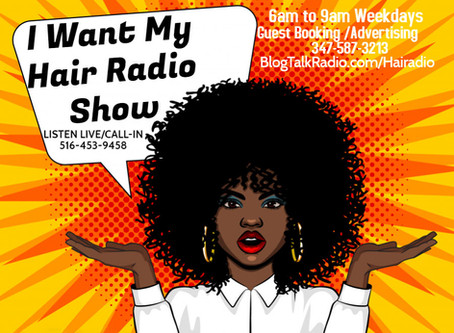 """The Hair Radio Morning Show"" Returns LIVE!"
