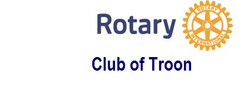ROTARY logo with Troon
