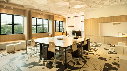 A co-working space for a creative start up