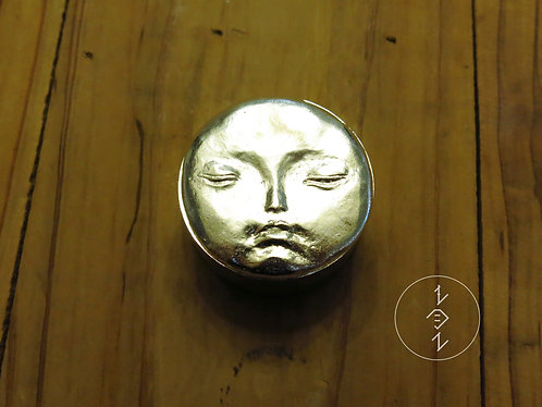 月盒(鍍銀版) / Moon Box( silver-plated brass)