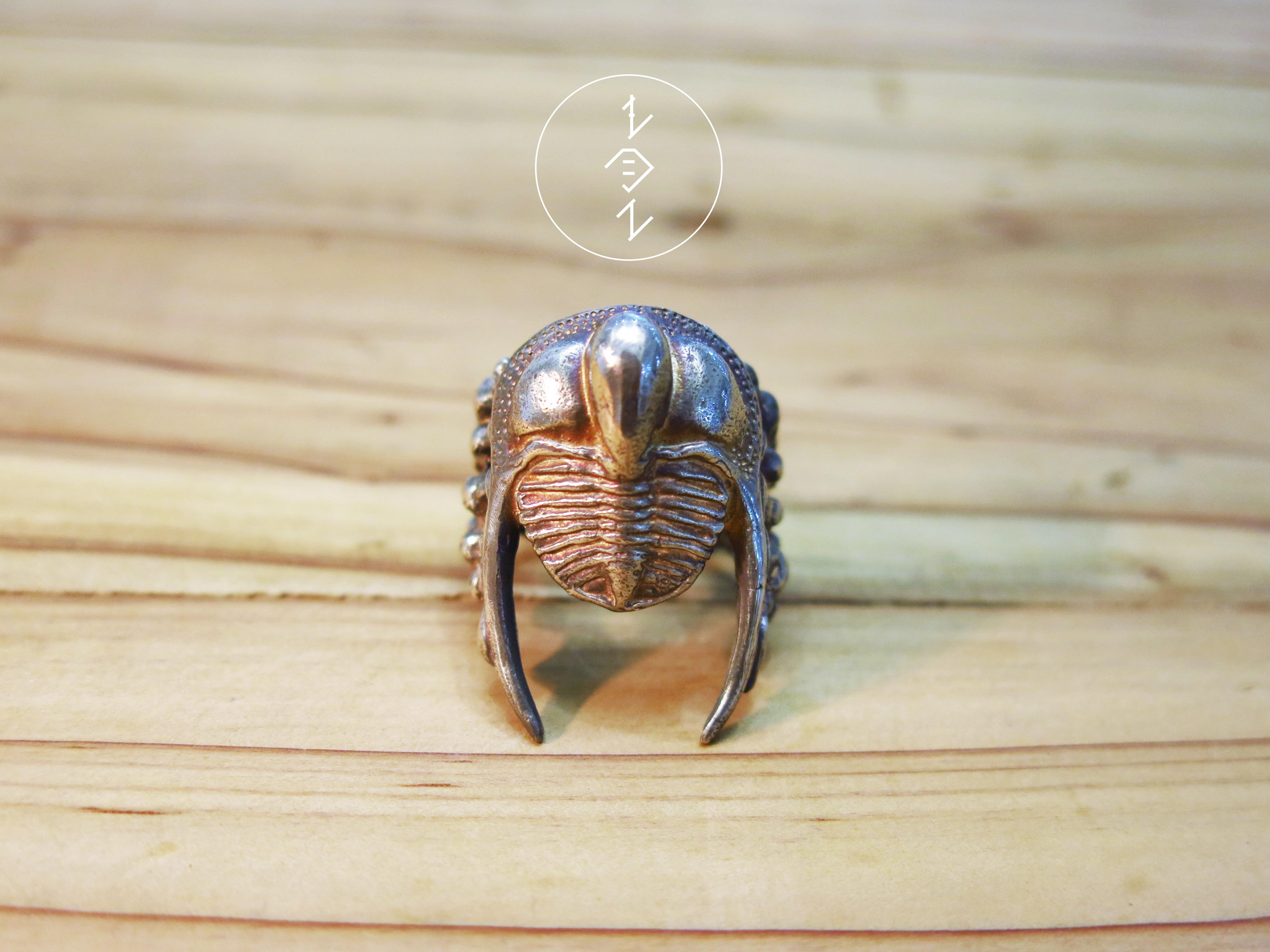 三葉蟲戒指