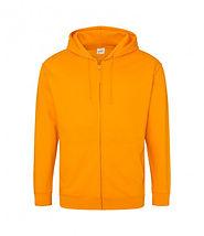 leavers zipped hoodie orange crush.jpg