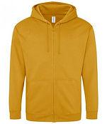 leavers zipped hoodie mustard.jpg