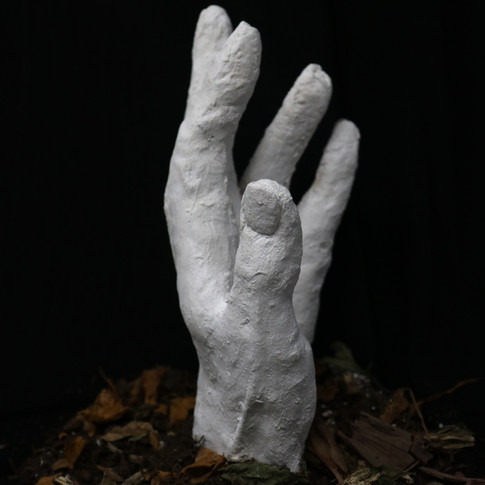 Dead Man's Fingers, art by Rachel Wojnar, 2019