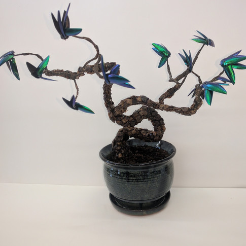 Bonsai, art by Rachel Wojnar, 2017