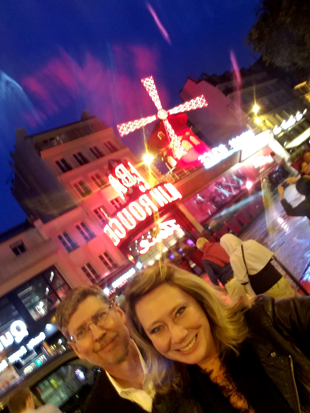Scott & Kate at the Moulin Rouge