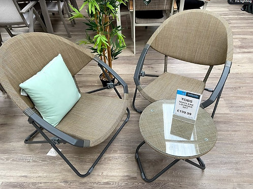 The old basket company lounger set