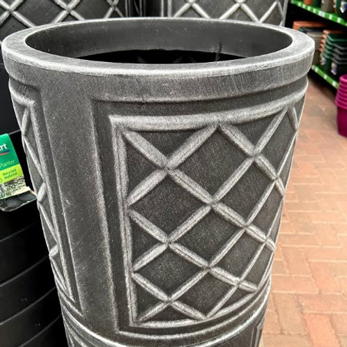 Round lead Effect Planter (small)