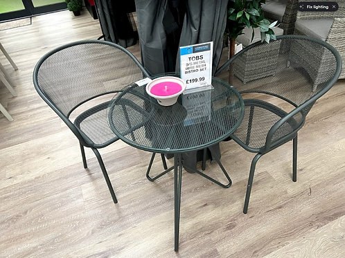 copy of The old basket company Bistro Set