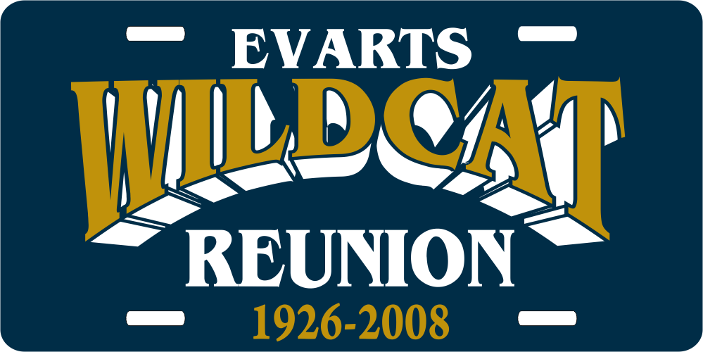 Wildcats Reunion Plates.png