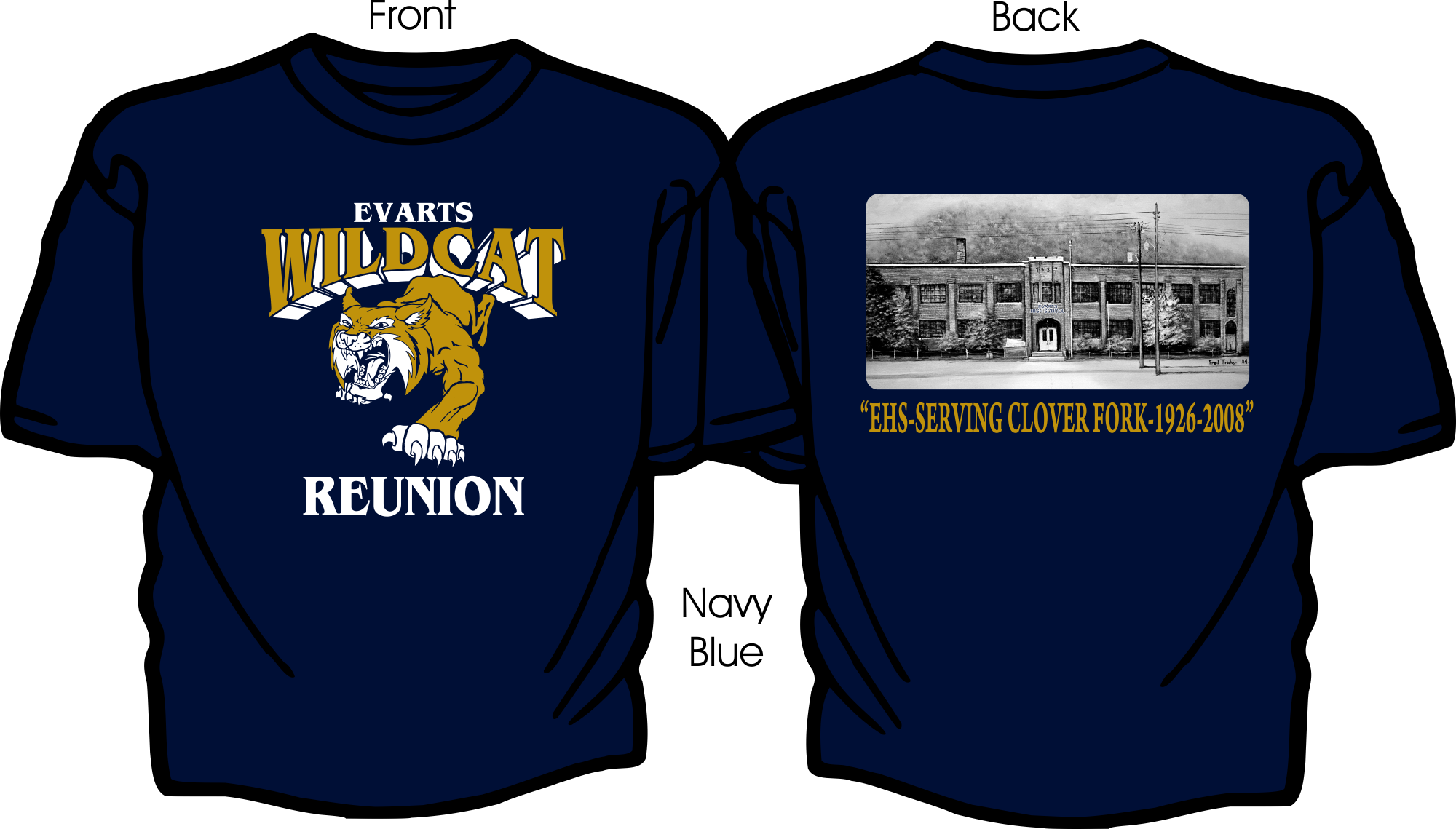 Wildcats Reunion Short Sleeved Shirts.png