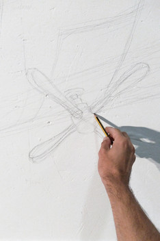 Sketching on the walls