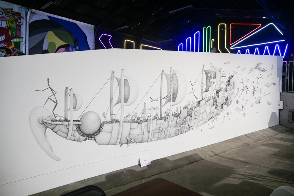 Mural Peinture Fraiche