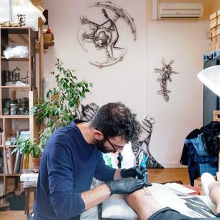 Mani Tattooing