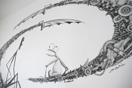 Fresque pour particuliers par Mani