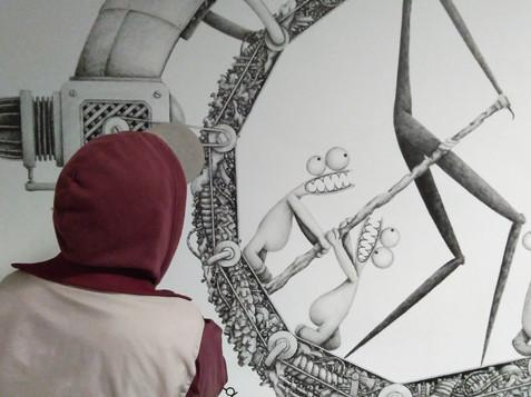 Street Art X Secours Pop