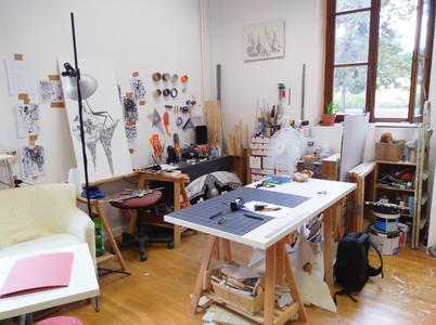 Dans L'atelier de Mani