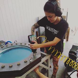 The team hydroforming shells - 2018