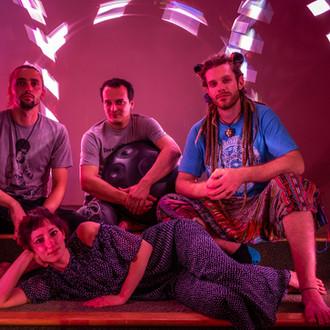 HangOut USA - 2018 - Rafael with Emma Mumi Grassia, Parker Horsch and Tim Tom