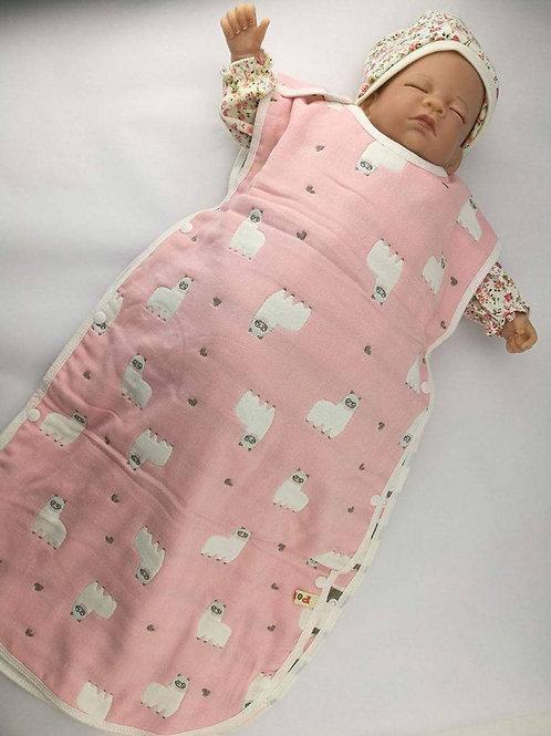 Sleepsack - Pink Llama