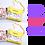 Thumbnail: Poppy Seat Twin Pack - Two Yellow Animal