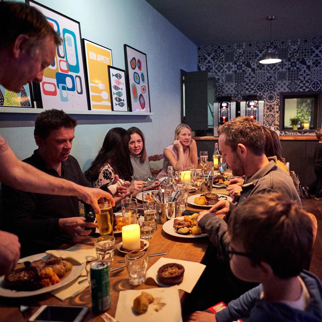 Un banquete para uno o para muchos