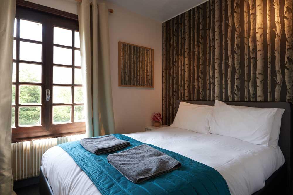 Double Room at Chamonix Lodge