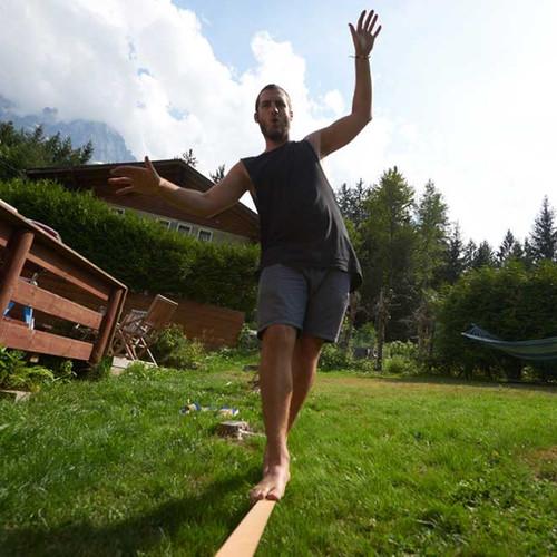 The Garden at Chamonix Lodge