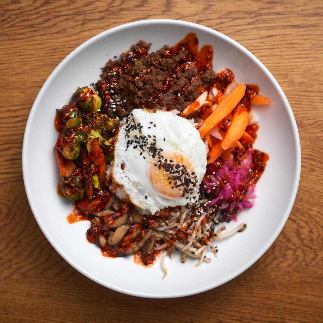 Bibimbap - comida casera coreana