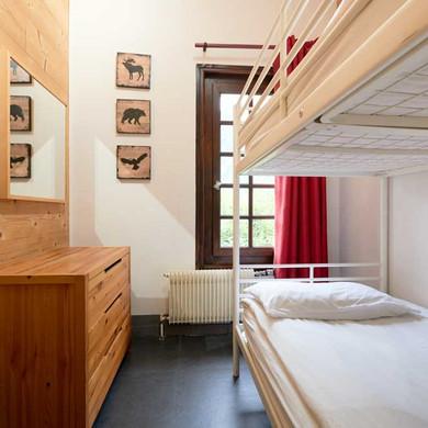 Twin Room at Chamonix Lodge