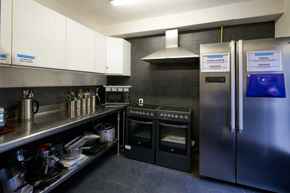 Guest Kitchen at Chamonix Lodge