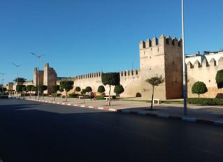 Arrivée à Rabat